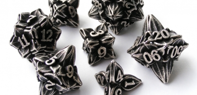 Tiny Tokens: Floral Dice