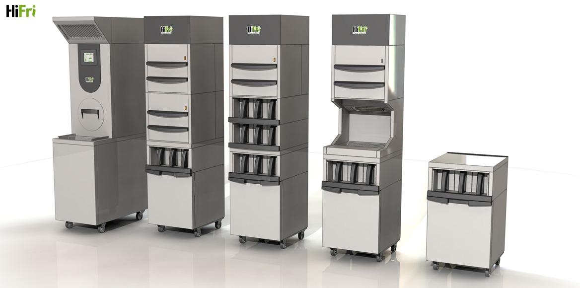 De verschillende mogelijke configuraties met de modules van de randapparatuur.