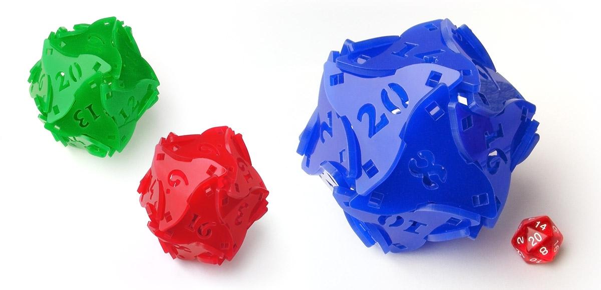 Tiny Tokens: D20 Acrylaat bouwpakket