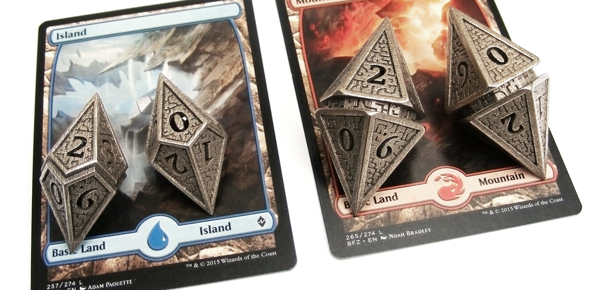 Tiny Tokens: Hedron Dice