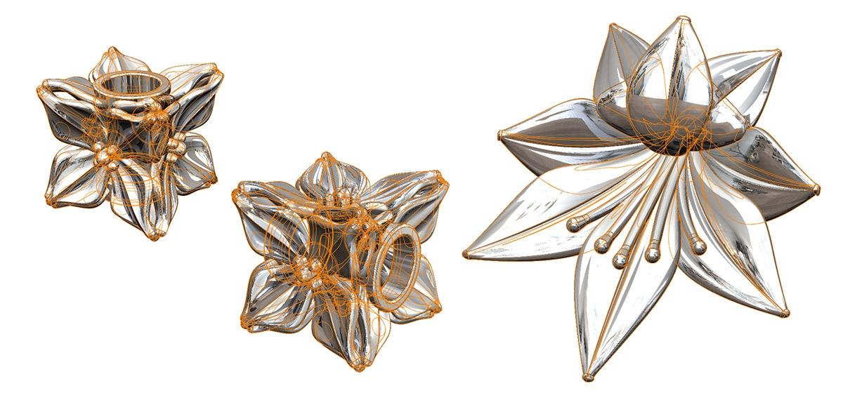 Tiny Tokens: Sieraden Floral